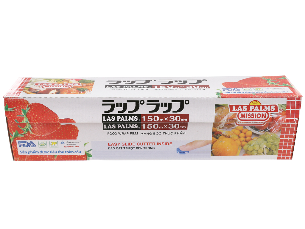 Màng bọc thực phẩm PVC Las Palms 30cm x 150m 2