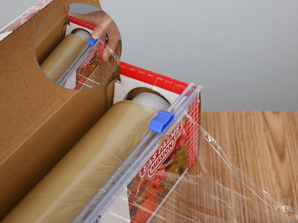 Màng bọc thực phẩm PVC Las Palms 30cm x 150m 4