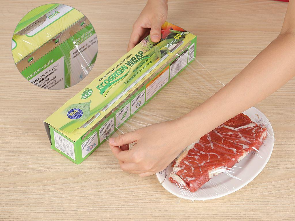 Màng bọc thực phẩm PVC Green Eco 30cm x 60m 4