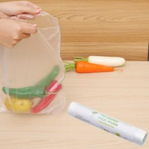 Túi đựng thực phẩm tự huỷ sinh học Opec 25 x 35cm (100 túi)