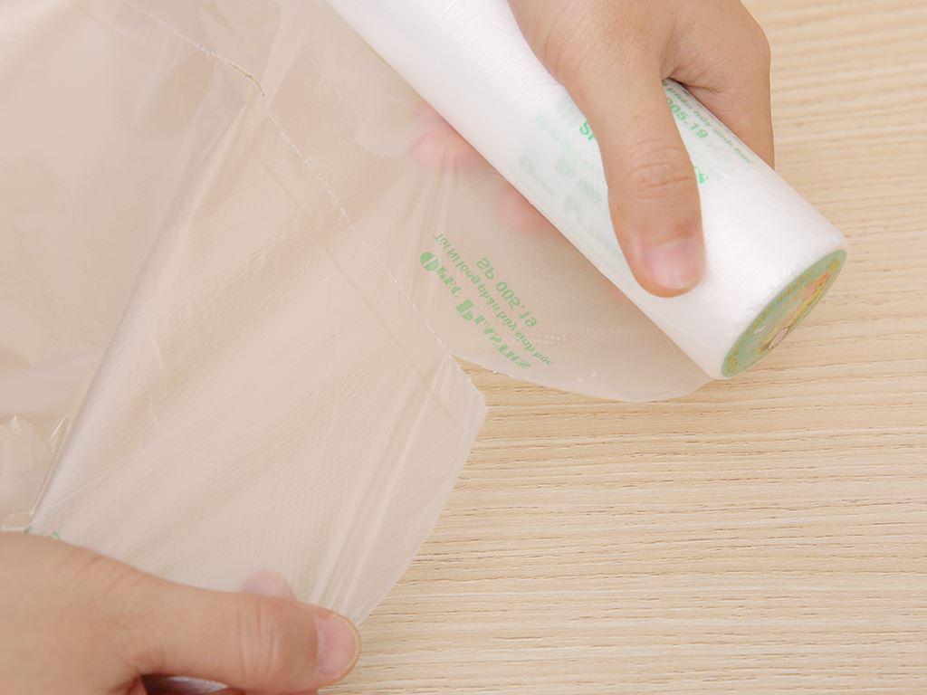 Túi đựng thực phẩm tự huỷ sinh học Opec 25 x 35cm (100 túi) 3