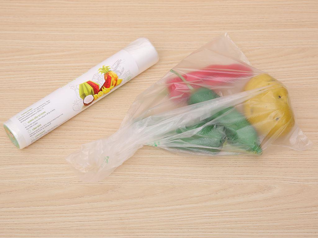 Túi đựng thực phẩm tự huỷ sinh học Opec 25 x 35cm (100 túi) 4