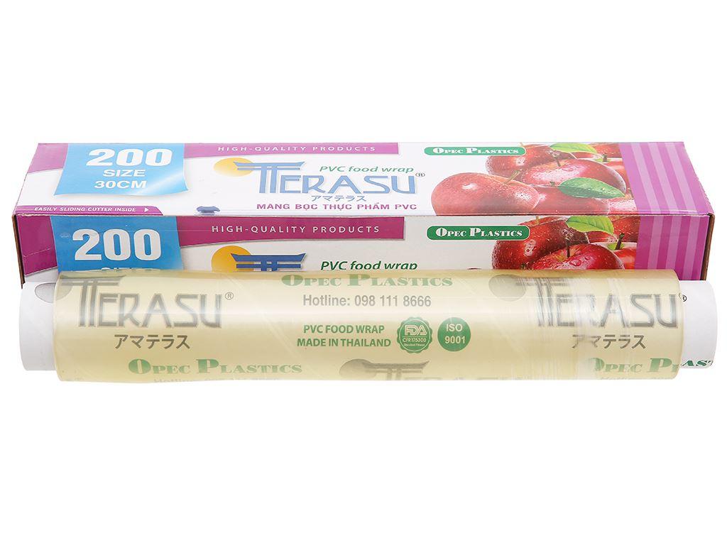 Màng bọc thực phẩm PVC Terasu 30cm x 100m 1