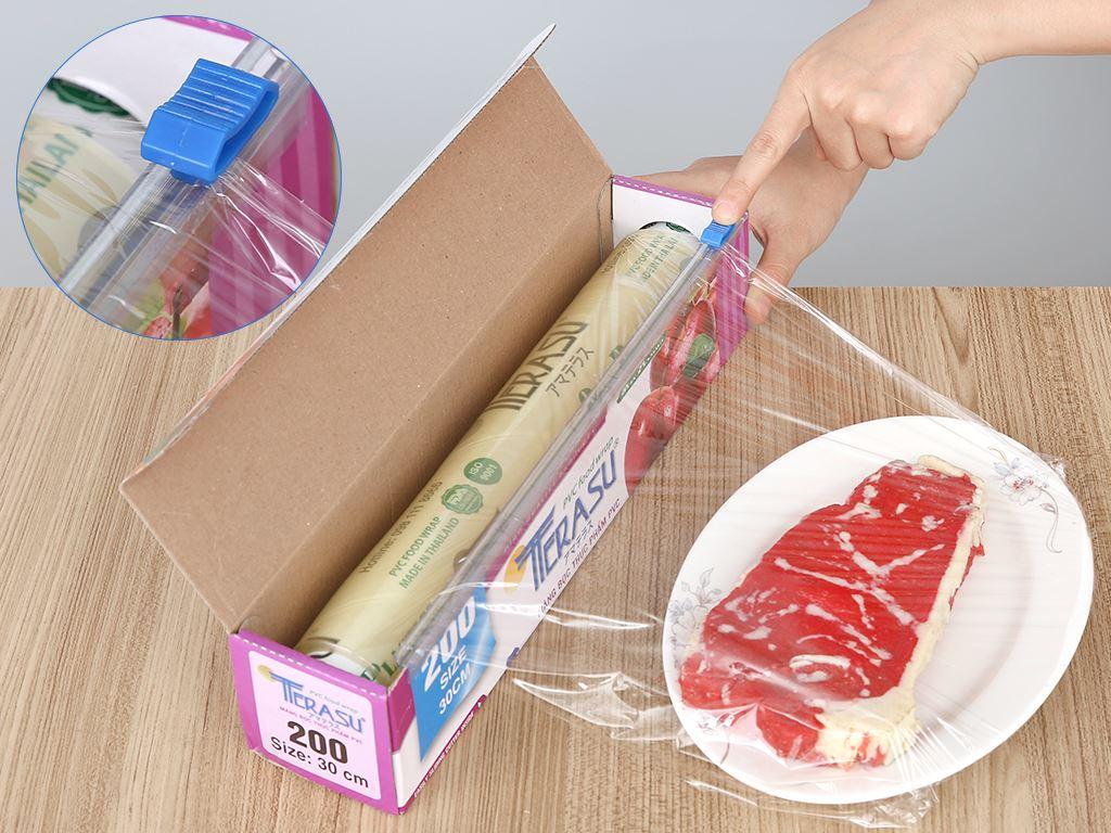 Màng bọc thực phẩm PVC Terasu 30cm x 100m 4