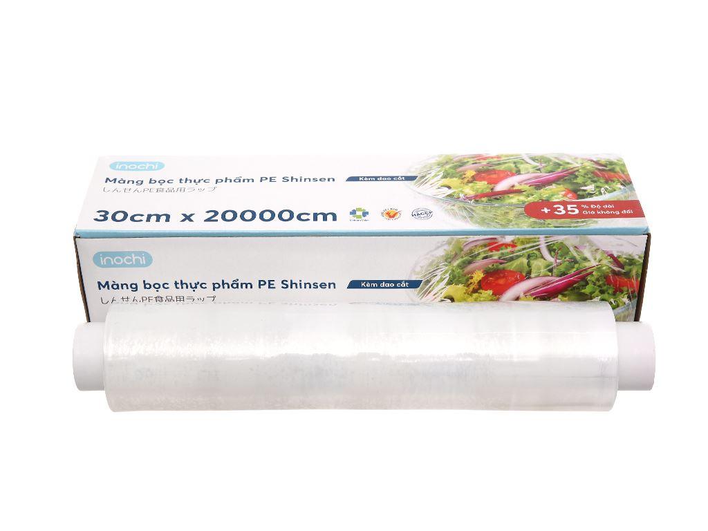 Màng bọc thực phẩm tự huỷ sinh học PVC Inochi 30cm x 200m 1