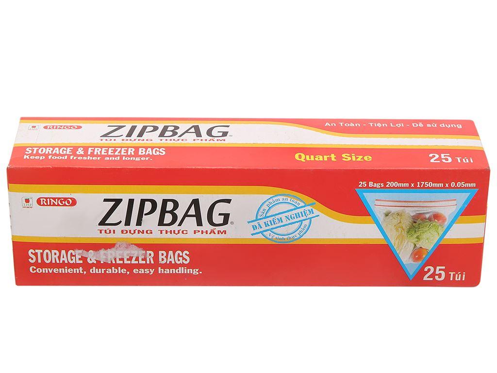 Túi zipper đựng thực phẩm Ringo 17.5 x 20cm (25 túi) 1