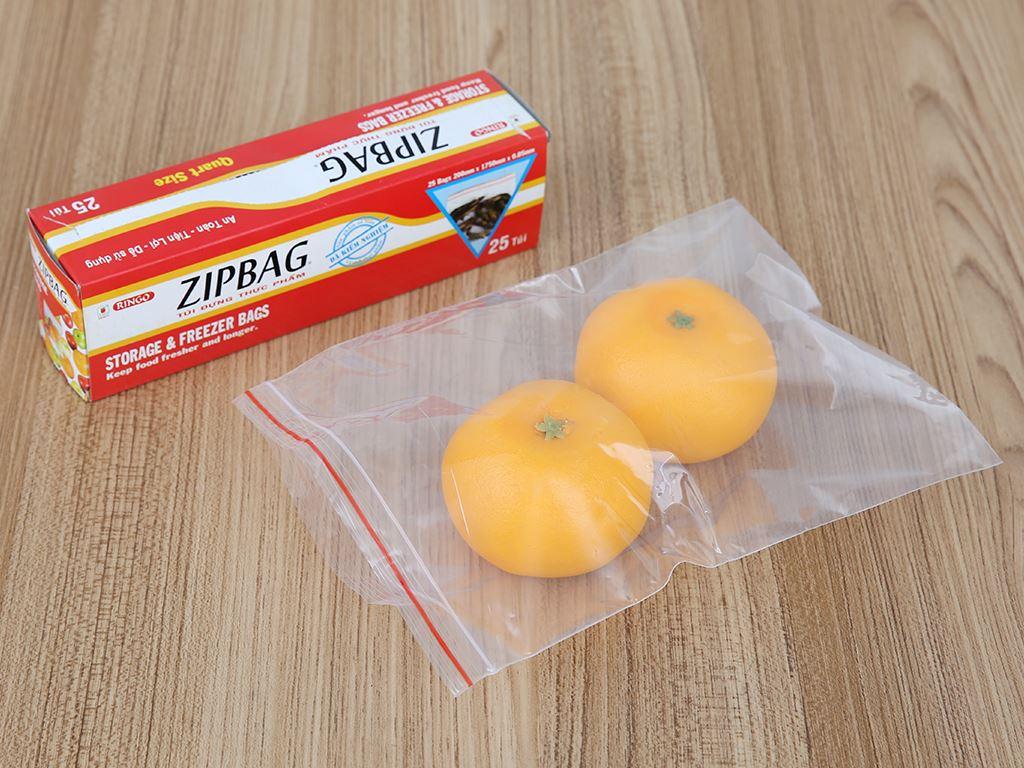 Túi zipper đựng thực phẩm Ringo 17.5 x 20cm (25 túi) 4