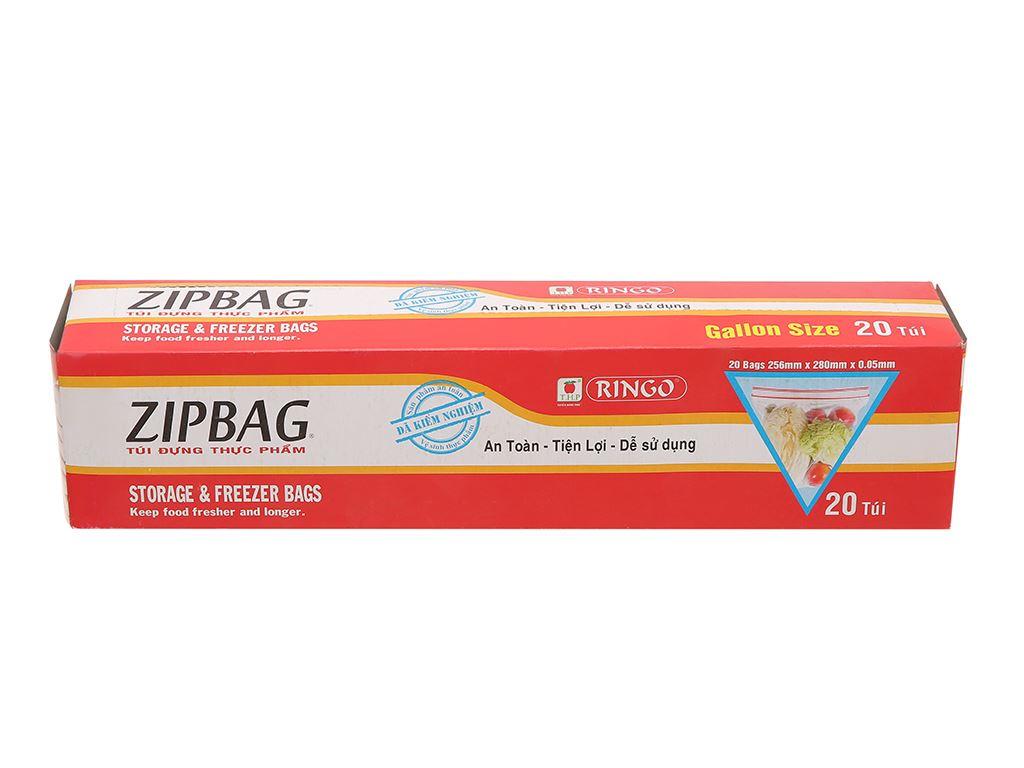 Túi zipper đựng thực phẩm Ringo 25.6 x 28cm (20 túi) 1