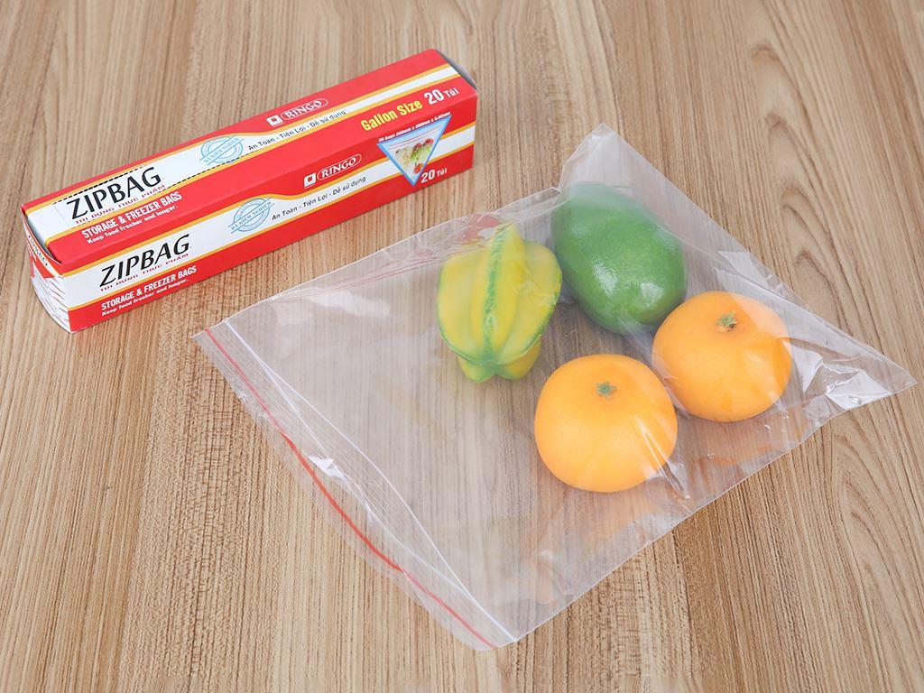 Túi zipper đựng thực phẩm Ringo 25.6 x 28cm (20 túi) 4