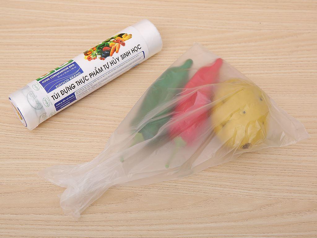 Túi đựng thực phẩm tự huỷ sinh học Eufood 20 x 30cm (100 túi) 4