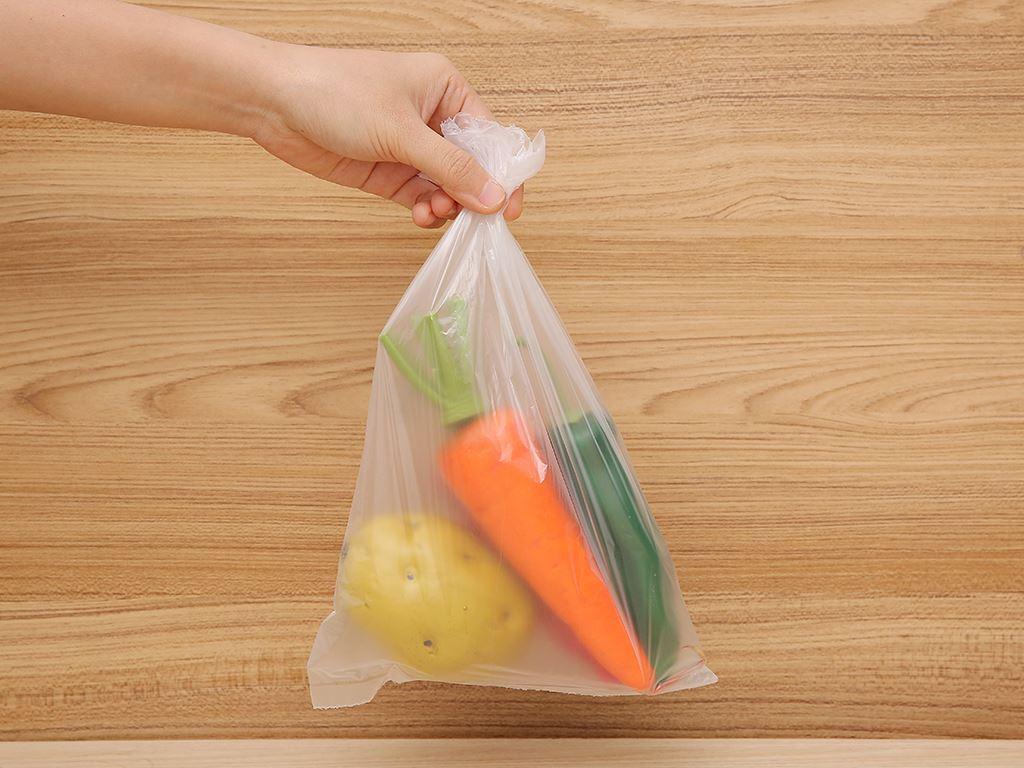 Túi đựng thực phẩm tự huỷ sinh học Eufood 20 x 30cm (100 túi) 5