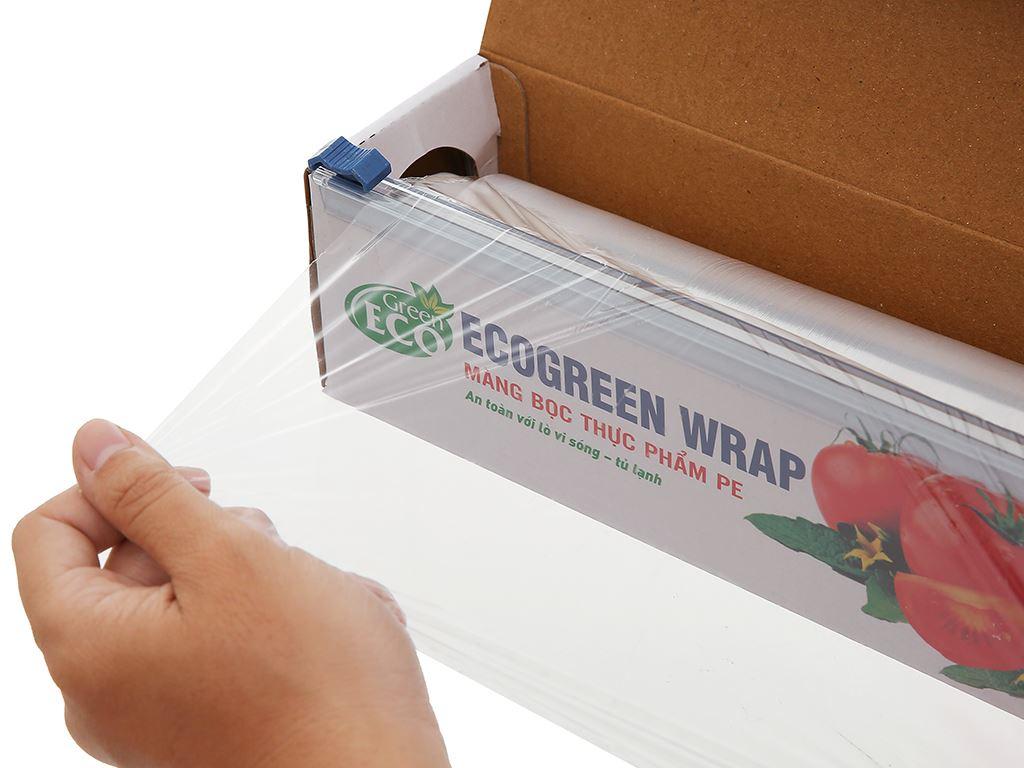 Màng bọc thực phẩm PE Green Eco 30cm x 100m 2