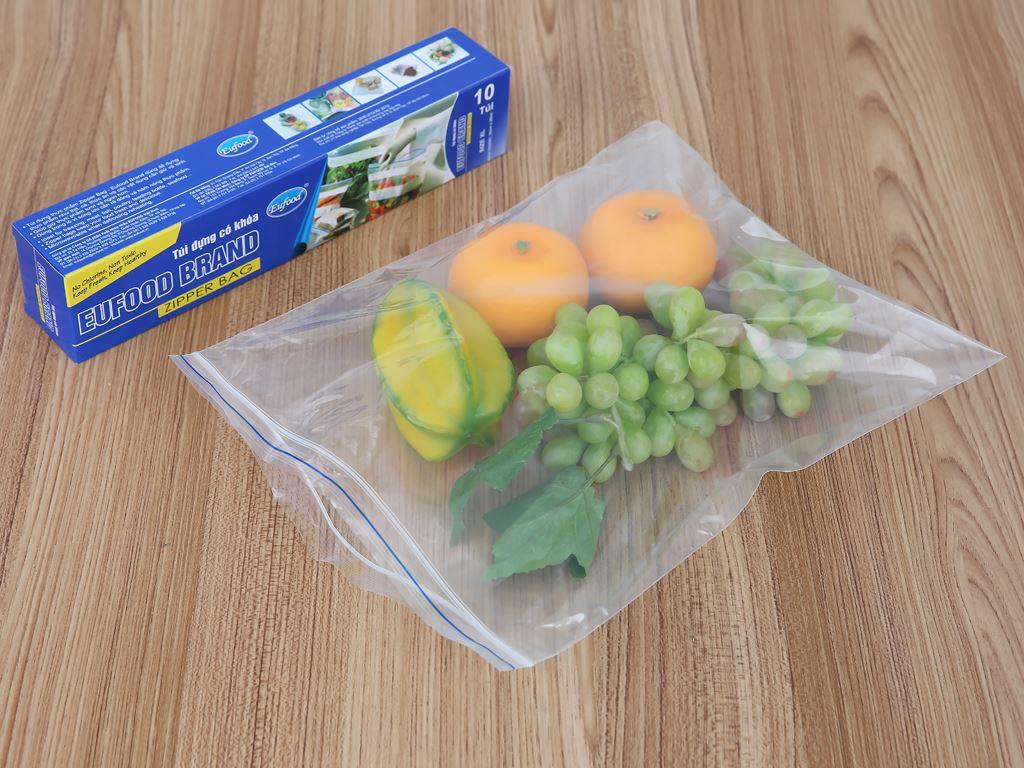 Túi đựng có khoá Eufood 28 x 35cm (10 túi) 4