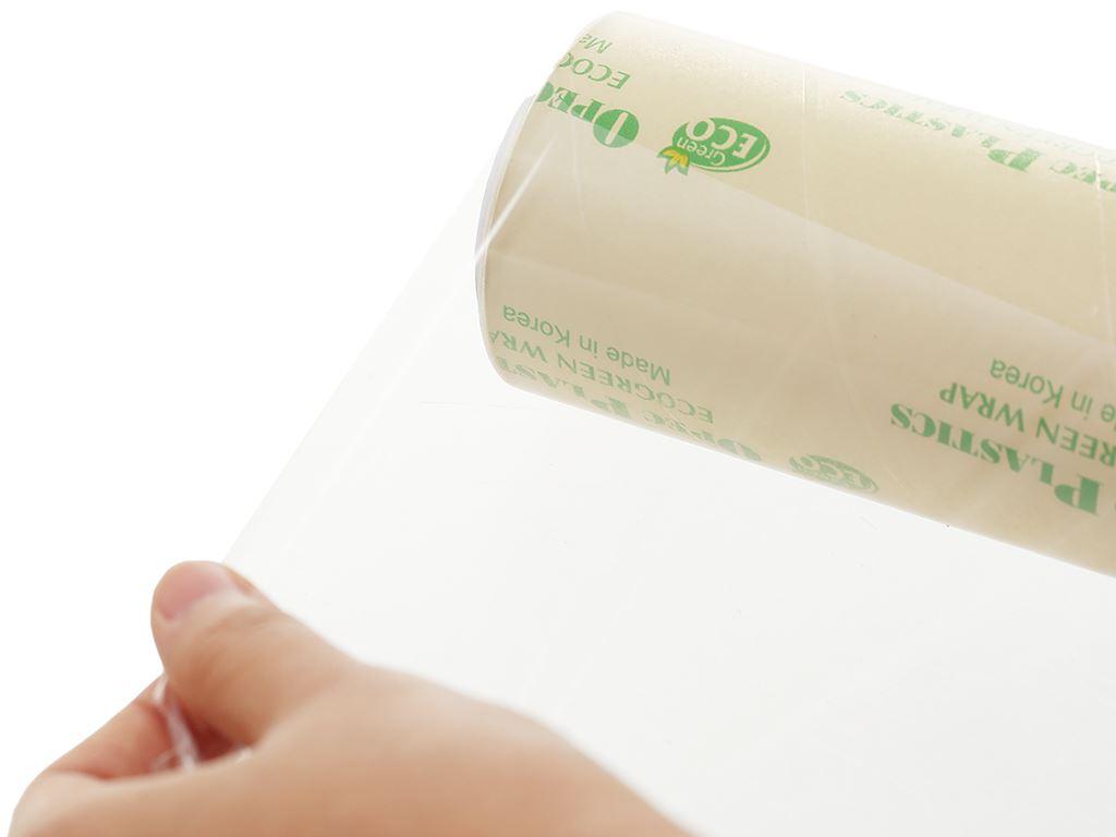 Lõi màng bọc thực phẩm tự huỷ sinh học PVC Green Eco 30cm x 100m 2