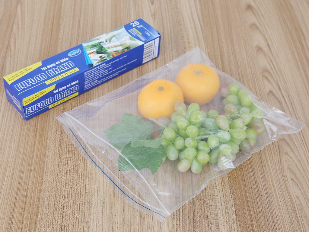 Túi đựng có khoá Eufood 26.5 x 31cm (20 túi) 4