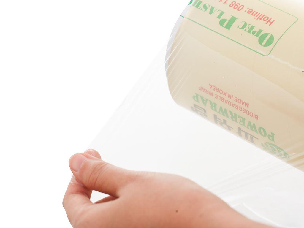 Màng bọc thực phẩm tự huỷ sinh học PVC Green Eco 30cm x 300m 2