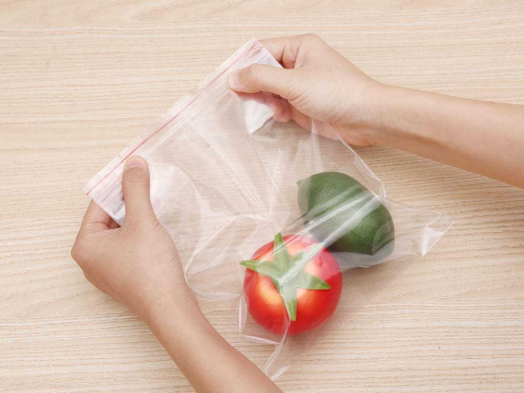 Túi zipper đựng thực phẩm Bách hóa XANH size M hộp 30 cái 5