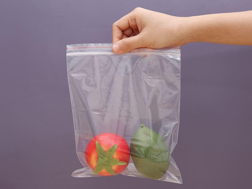 Túi zipper đựng thực phẩm Bách hóa XANH size M hộp 30 cái 6