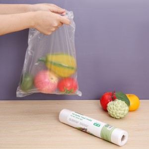 Túi đựng thực phẩm tự hủy sinh học Bách hóa XANH 25 x 35 cm (120 túi)