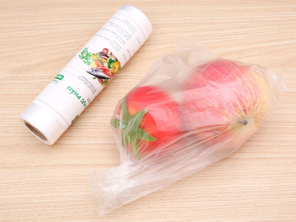 Túi đựng thực phẩm tự hủy sinh học Bách hóa XANH 17 x 25 cm (120 túi) 4