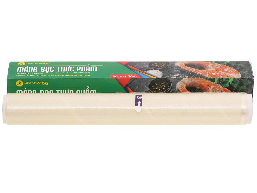 Màng bọc thực phẩm PVC Bách hóa XANH 30cm x 30m 1