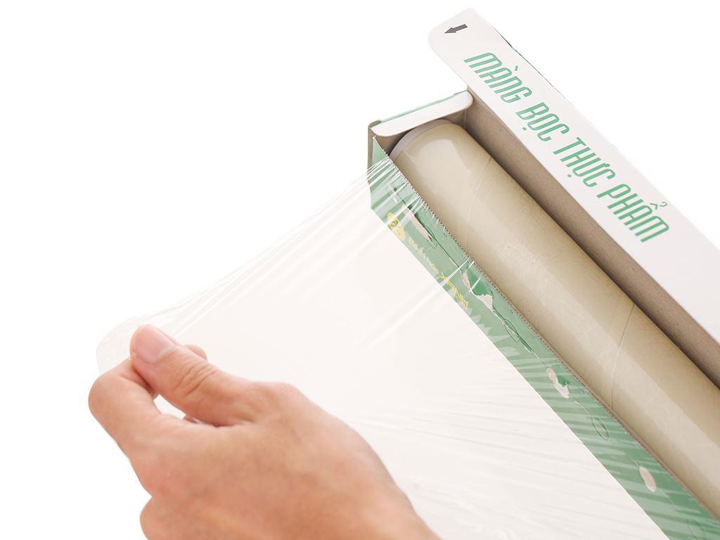 Màng bọc thực phẩm PVC Bách hóa XANH 30cm x 30m 2