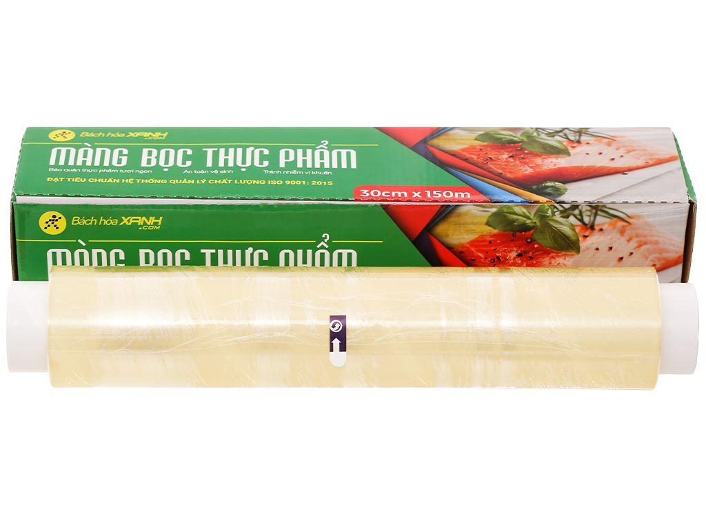 Màng bọc thực phẩm PVC Bách hóa XANH 30cm x 150m 1