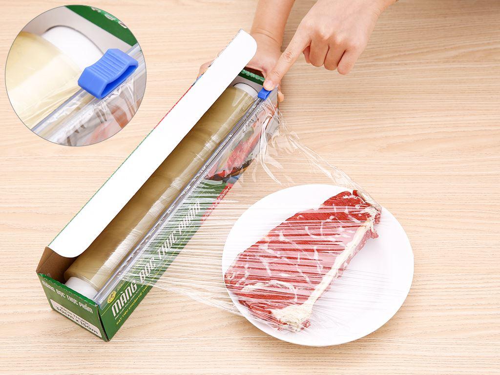 Màng bọc thực phẩm PVC Bách hóa XANH 30cm x 150m 4