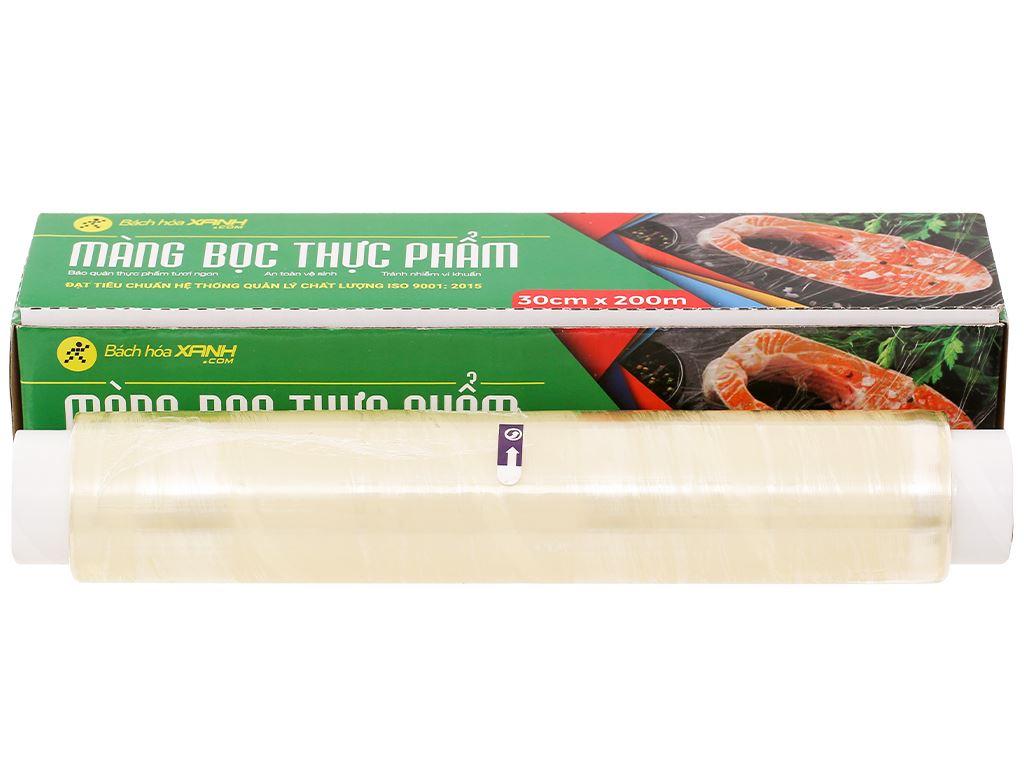 Màng bọc thực phẩm PVC Bách hóa XANH 30cm x 200m 1