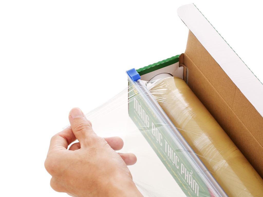 Màng bọc thực phẩm PVC Bách hóa XANH 30cm x 200m 2