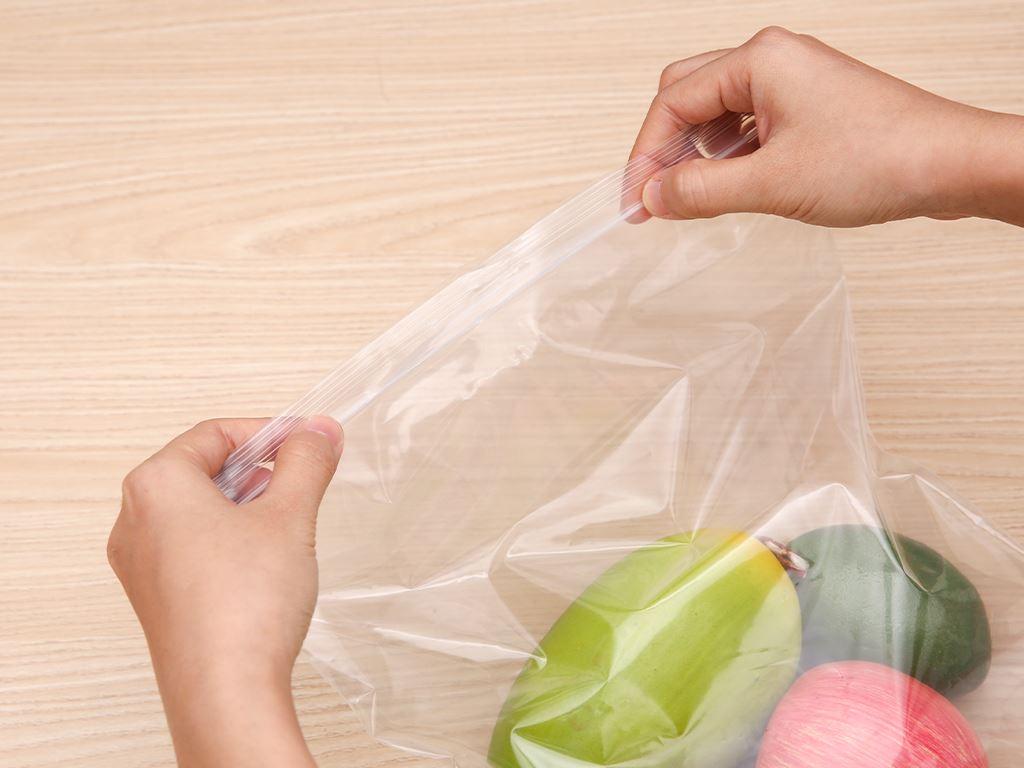 Túi zipper tự hủy sinh học Bách hóa XANH 26cm x 30cm (20 túi) 5