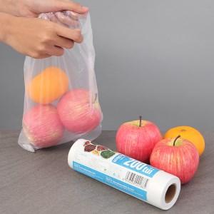 Túi đựng thực phẩm tự hủy sinh học HDPE Bách hóa XANH 20 x 30cm (200 túi)