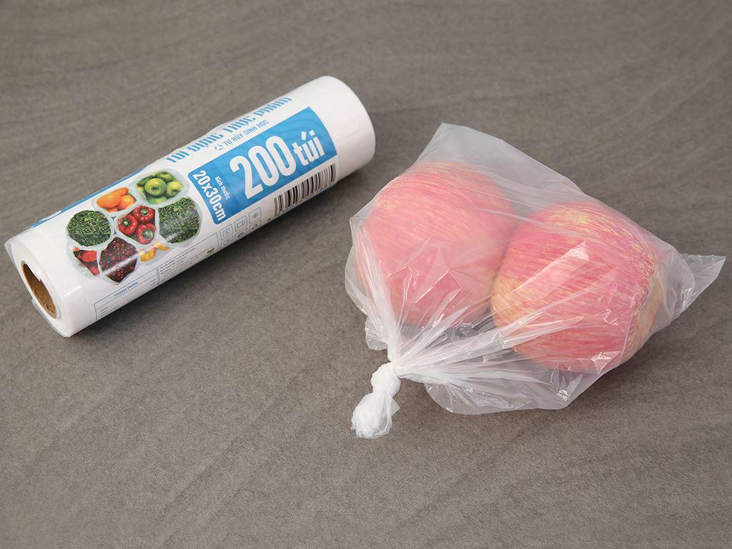 Túi đựng thực phẩm tự hủy sinh học HDPE Bách hóa XANH 20 x 30cm (200 túi) 4