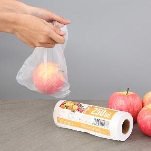 Túi đựng thực phẩm tự hủy sinh học Bách hóa XANH 17 x 25 cm (250 túi)