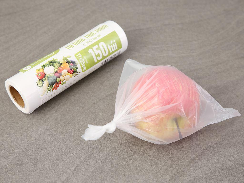 Túi đựng thực phẩm tự hủy sinh học Bách hóa XANH 17 x 25cm (150 túi) 5