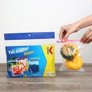 Túi zipper slider Kokusai đa năng 3 size M, L, XL