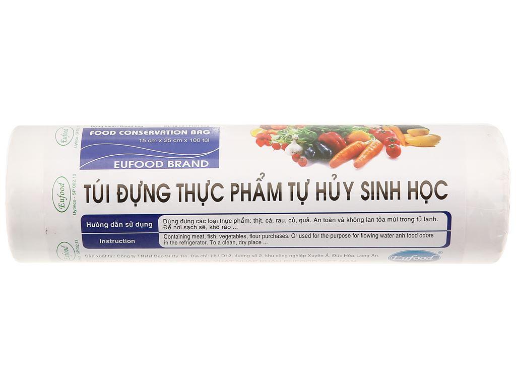 Túi đựng thực phẩm Eufood 15 x 25cm (100 cái) 1