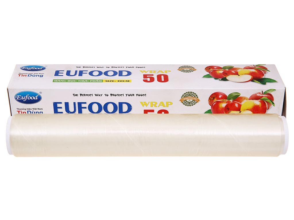 Màng bọc thực phẩm PVC Eufood 30cm x 50m 1