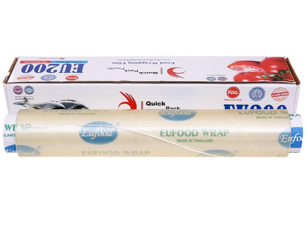 Màng bọc thực phẩm PVC Eufood 30cm x 150m 1