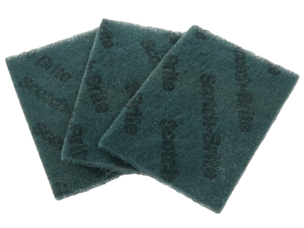 3 miếng rửa chén cước xanh 3X Scotch Brite 1