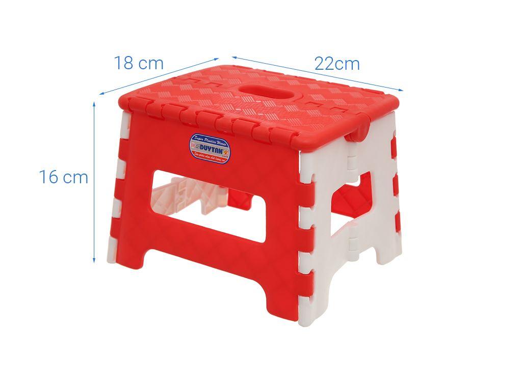 Ghế xếp nhựa Duy Tân 22 x18.3 x 16 cm (giao màu ngẫu nhiên) 6