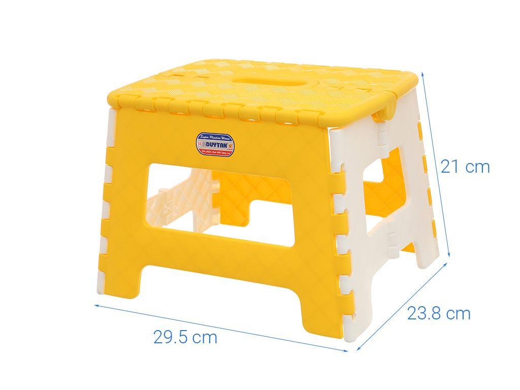 Ghế xếp nhựa Duy Tân 29.5 x 24 x 21cm (giao màu ngẫu nhiên) 6