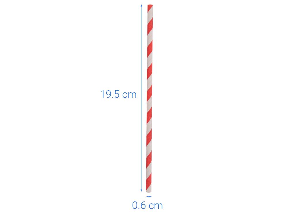 Ống hút giấy Green Eco 19cm (25 cái) (giao màu ngẫu nhiên) 5