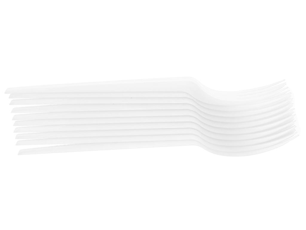 Bộ nĩa vi sinh phân huỷ hoàn toàn Aneco 15cm (10 cái) 4
