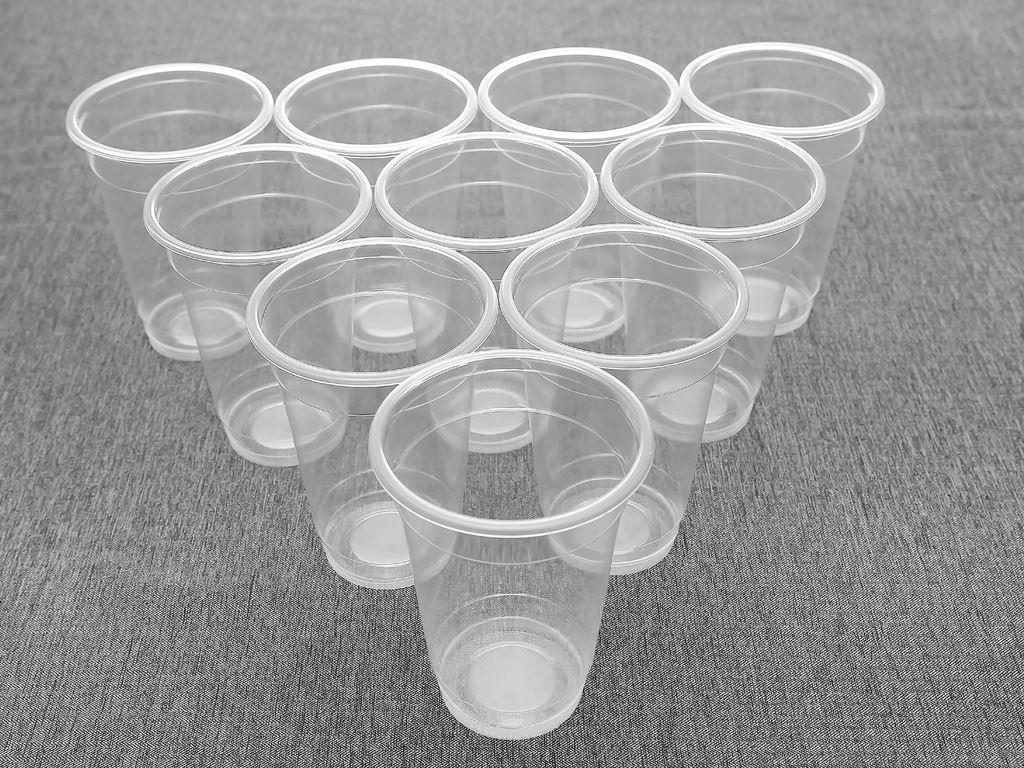 Ly nhựa trong Bách Hoá Xanh BPPP 500ml (10 cái) 1