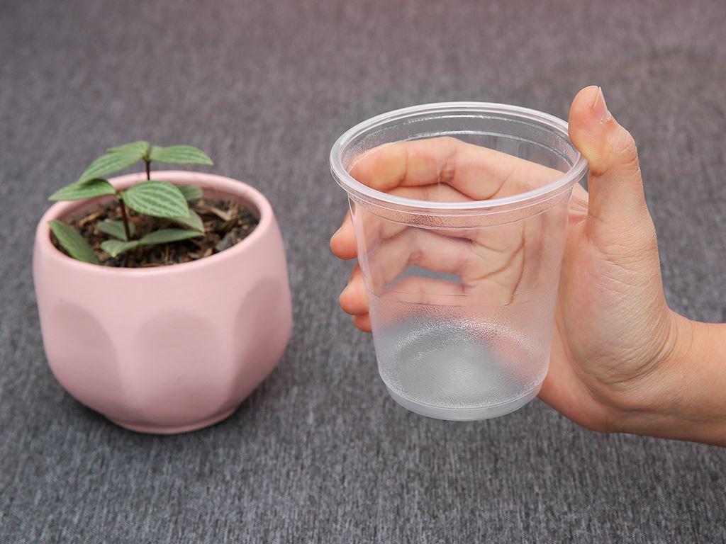 Ly nhựa trong Bách Hoá Xanh BPPP 350ml (10 cái) 4