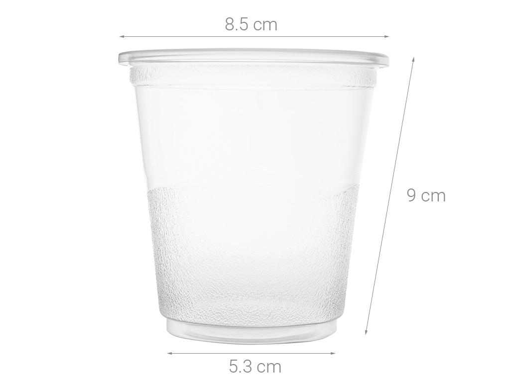 Ly nhựa trong Bách Hoá Xanh BPPP 350ml (10 cái) 5