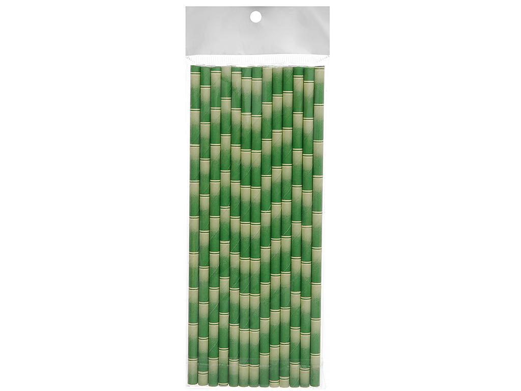 Ống hút giấy màu Casavi 6 ly 19.1cm x 0.8cm (25 cái) (giao màu ngẫu nhiên) 2