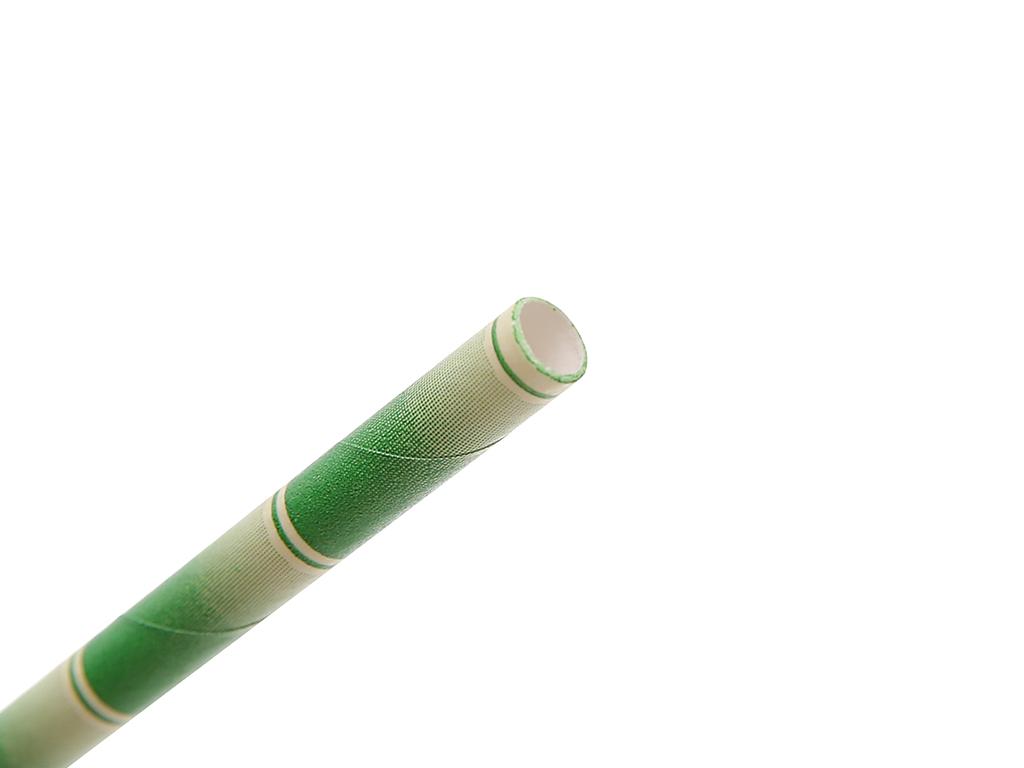 Ống hút giấy màu Casavi 6 ly 19.1cm x 0.8cm (25 cái) (giao màu ngẫu nhiên) 4