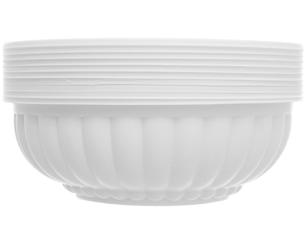 Tô nhựa Bách Hoá Xanh BPPP 16.5cm (10 cái) 1